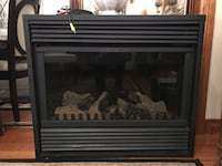 Brown wooden fireplace Vaudreuil-Dorion, J7V
