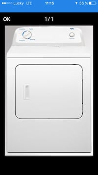 white front-load clothes dryer screenshot Longueuil, J4M 2X6