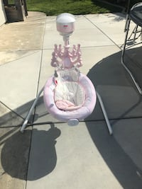 Electric  Swing for baby (girl)