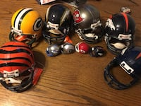 Collectible mini football helmets Westminster, 80031