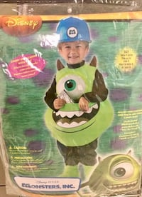 NEW Monsters Inc Mike Costume Size 6 Margate, 33063