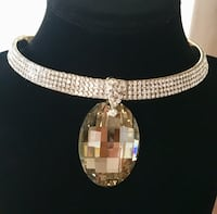 Rhinestone choker necklace! New !  Canyon Country, 91387