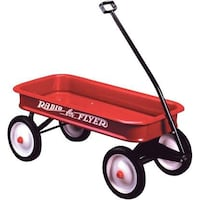 red and black Radio Flyer wagon Washington, 20011