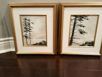 Trees paintings by Nicholas Kane- 100 obo for both Richmond Hill, L4C 5H1