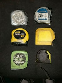 25 ft tape measures used $5 each Menifee, 92584