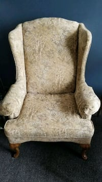 Antique wingback chair London