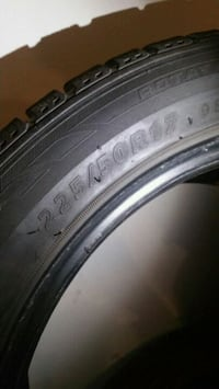 225 50 R17 winter tires!! Brampton, L6R 0W2
