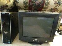 black CRT TV with remote Fayetteville, 28314