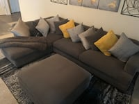 Cozy Chic Dark Gray sectional (SUPER COMFY) Virginia Beach, 23462