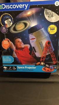 NEW Discovery 2 in 1 Space Projector