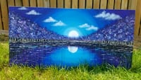 48x24 inches beautiful acrylic painting  Richmond Hill, L4C
