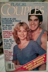 EXTREMELY RARE 1981 *INCREDIBLE  HULK*PLAY GIRL COUPLES DIGEST