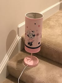Lamp - pink kids Mickey Mouse