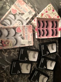 20 pairs of eyelashes Arcade, 95825