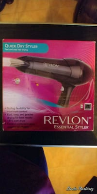 New blow dryer in the box Bryan