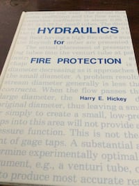 JUST REDUCED hydraulics for fire protection (hardcover) Rockville
