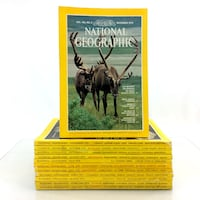 1979 National Geographic Magazines Complete Year Set 12 Issue Run Lot Jan-Dec