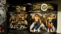 two wrestler action figure boxes
