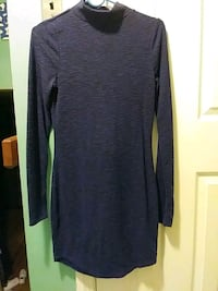 Used Small Turtleneck Violet Slim-fitting Dress Wallingford, 06492