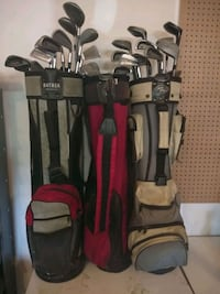 black and red golf bag Brampton, L7A 0B5