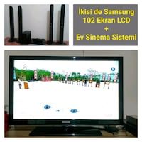 "Full HD Samsung 40"" 102 ekran LCD TV + Ev sinema Tunalı Mahallesi, 26220"