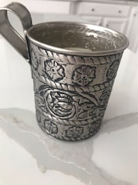 Silver pottery barn candle Oxon Hill, 20745
