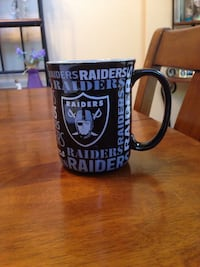 Raiders 15oz coffee mug.