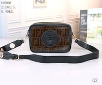 NEW BROWN AND BLACK LUXURY  SHOULDER BAG  Laurel, 20707