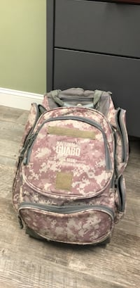 pink and white floral backpack Alexandria, 22315