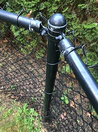 35' Of black chain-link fence for sale make me an offer  Dover, 02030