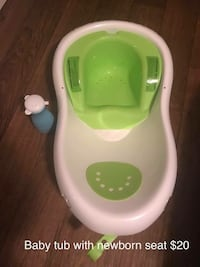 baby's white and green plastic bather Murfreesboro, 37127