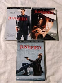 Justified Television Series Seasons 1-3 Marshall Timothy Olyphant