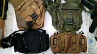 Assorted tactical bags Toronto, M6B 1J7