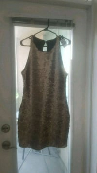 women's brown sleeveless dress Toronto, M1P 5C5
