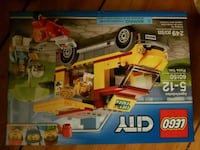 yellow and red LEGO toy box Surrey, V4N 3V7