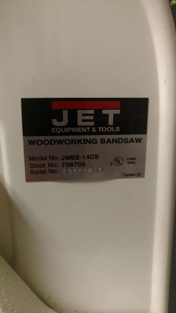 Used Jet Band Saw For Sale In New Haven Letgo
