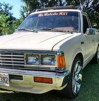white Ford F-150 single cab pickup truck null