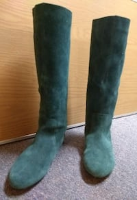 Boots Genuine Leather Suede LIKE NEW!
