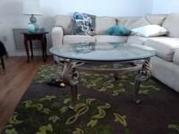 3 peice hutch, coffee table end table. heavy duty null