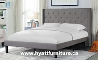 Brand new Designed Fabric Double/ Queen Bed Toronto