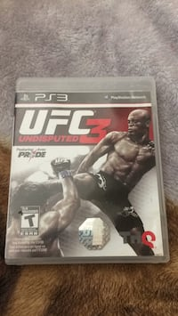 PS3 UFC GAME Surrey, V3W 5Y7