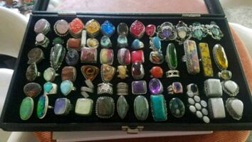 Unique Artisan STERLING SILVER Gemstone JEWELRY TOO MUCH TO LIST