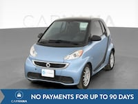 2014 smart fortwo coupe Passion Hatchback Coupe 2D Blue