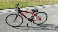 red and black mountain bike Port Saint Lucie, 34953