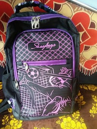 black and purple backpack carrier Mumbai, 400089