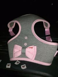 gray and pink dog harness Mississauga, L5N 4C4
