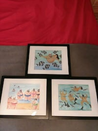 3 Very Limited Edition etchings  Highland, 92346