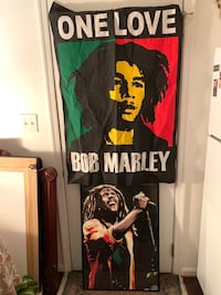 Bob Marley Poster & Wall Hanging Lot Baltimore, 21205