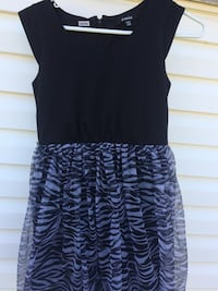 Zebra print kids dress Calgary, T1Y 1A8