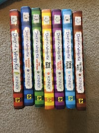 Diary of a wimpy kid hardback book set of 7 Mount Vernon, 47620